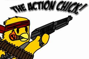 The Action Chick